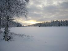 Smörsjön i december